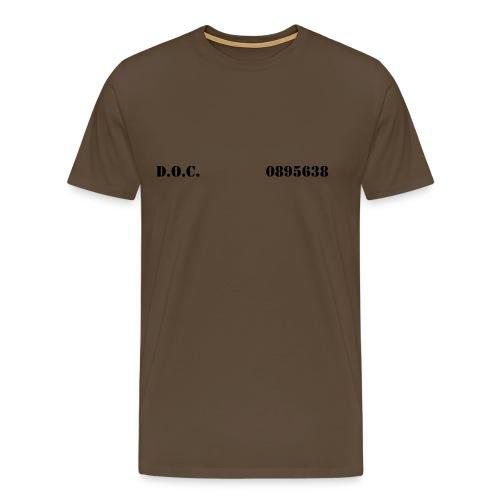 Department of Corrections (D.O.C.) 2 front - Männer Premium T-Shirt