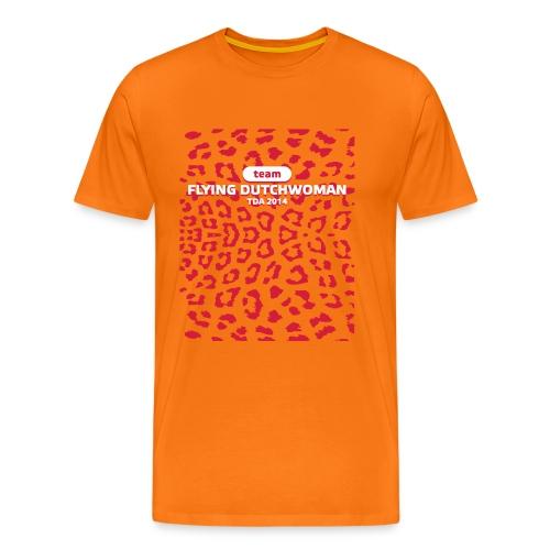 frontprint - Mannen Premium T-shirt