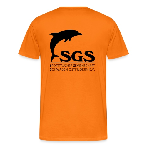 SGS Komplettlogo - Männer Premium T-Shirt