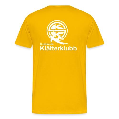 SKK_logga_vertical - Premium-T-shirt herr