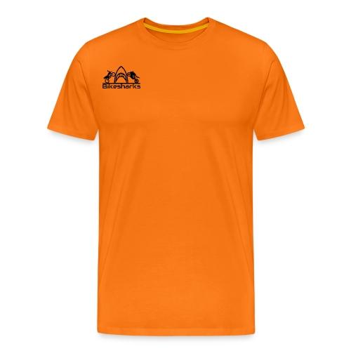 Bikesharks Design PNG - Männer Premium T-Shirt