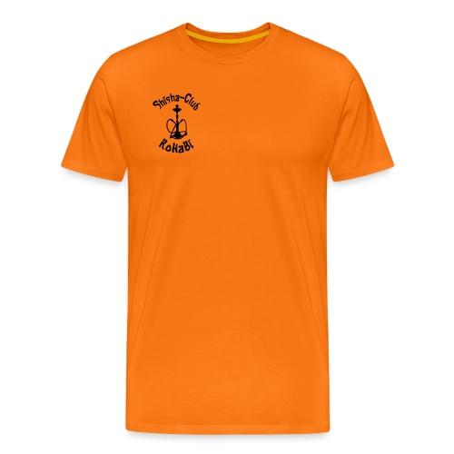 SC RoHaBi Logo Schwarz - Männer Premium T-Shirt