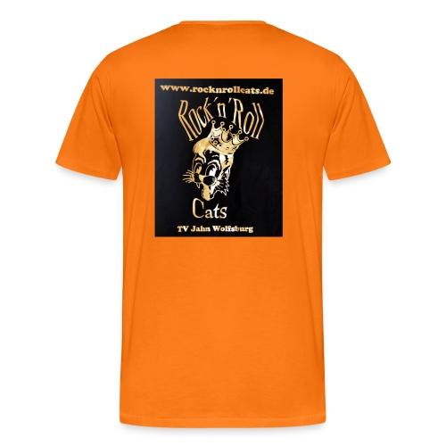 Cats Gold - Männer Premium T-Shirt