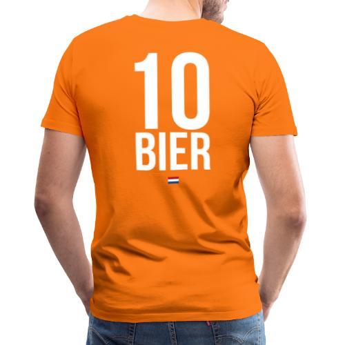 10 Bier - Mannen Premium T-shirt