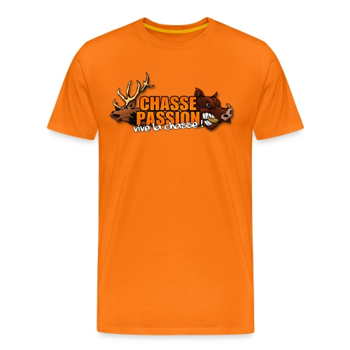 ChassePassion logoTSHIRT png - T-shirt Premium Homme