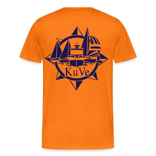 KuVe_musta - Miesten premium t-paita