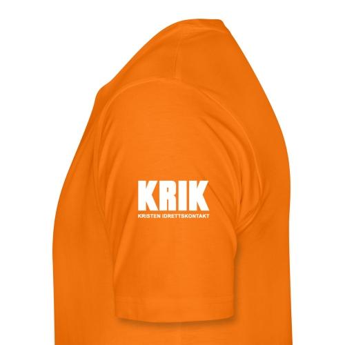 KRIK Klatring Oslo + KRIK - Premium T-skjorte for menn