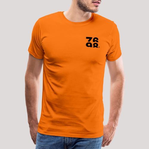 Numbers (Black) - Men's Premium T-Shirt