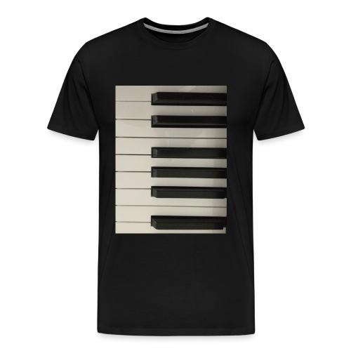 Piano T-Shirt - Männer Premium T-Shirt