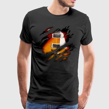 E Gitarre in mir - Männer Premium T-Shirt