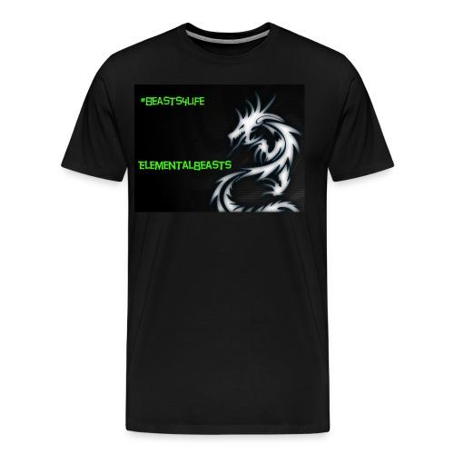 ElementalDragonYT merchandise - Men's Premium T-Shirt