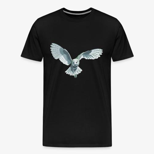 barn owl - Männer Premium T-Shirt