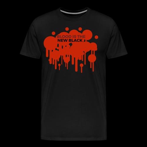 Blood is the New Black - Männer Premium T-Shirt