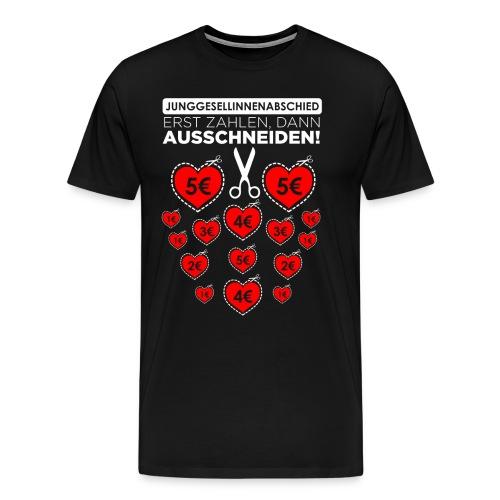 Bitte ausschneiden! - Männer Premium T-Shirt