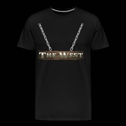 CoBF The west - Männer Premium T-Shirt