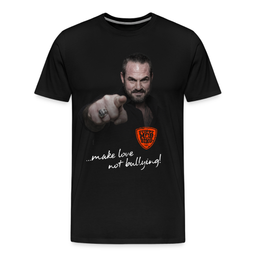 Carsten Stahl - Make Love Not Bullying - Männer Premium T-Shirt