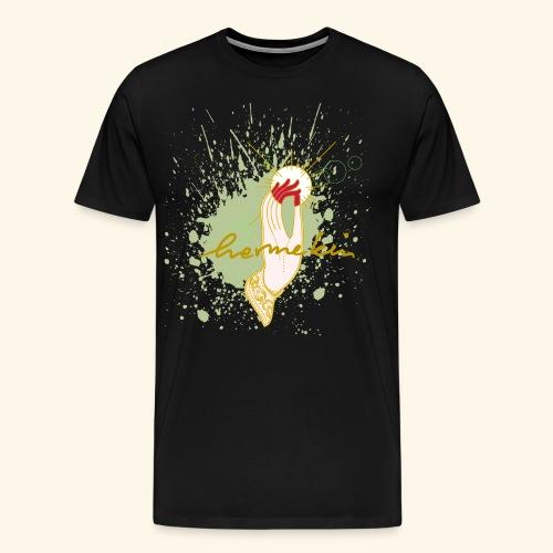 hermekins Gyan Mudra - Männer Premium T-Shirt