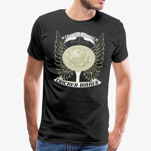 pubg troeja - Premium-T-shirt herr