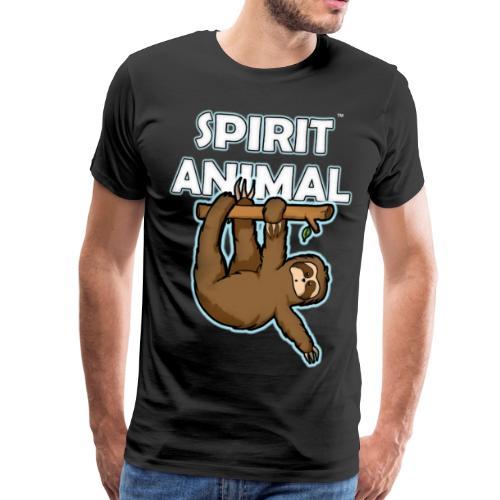 Spirit Animal Sloth - Men's Premium T-Shirt