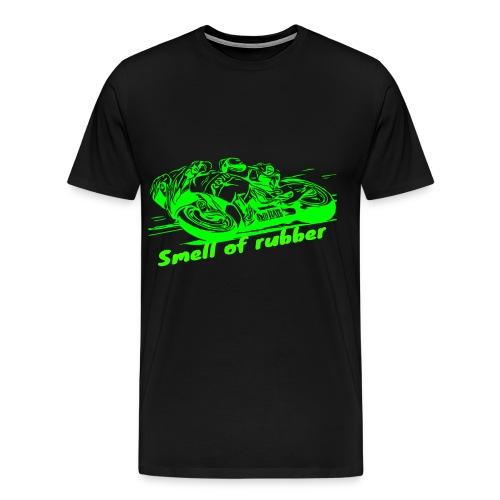 Geruch von Gummi 2 Grün - Männer Premium T-Shirt