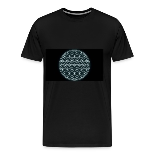 flower of life - Mannen Premium T-shirt