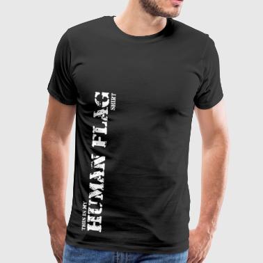 Oznacz człowiek - r - Koszulka męska Premium