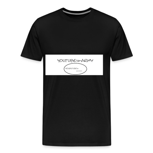 Logo Mr.Youtube10 - Männer Premium T-Shirt