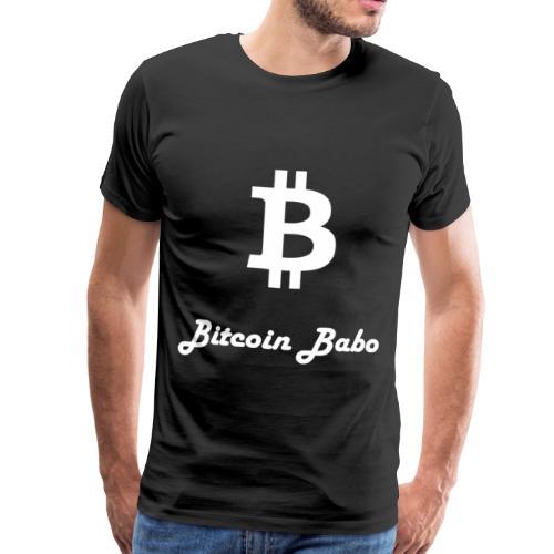 Bitcoin Babo - Männer Premium T-Shirt