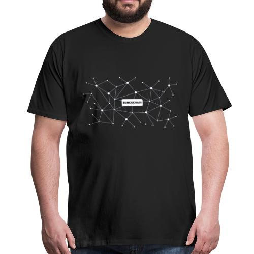 Blockchain - Männer Premium T-Shirt