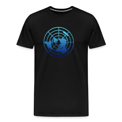 Logo Tierra Plana - Camiseta premium hombre
