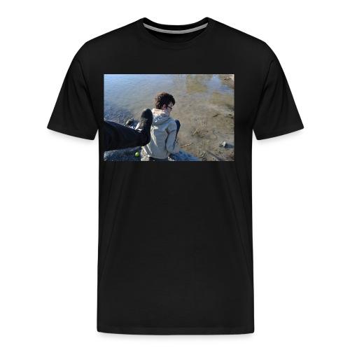 Fierce Kick - Premium T-skjorte for menn