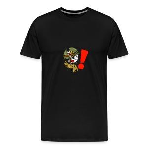 soldaat kat - Mannen Premium T-shirt