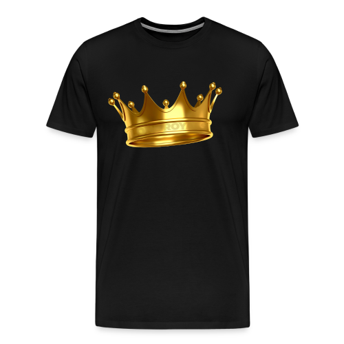 LONE ROYALS CROWN - Men's Premium T-Shirt