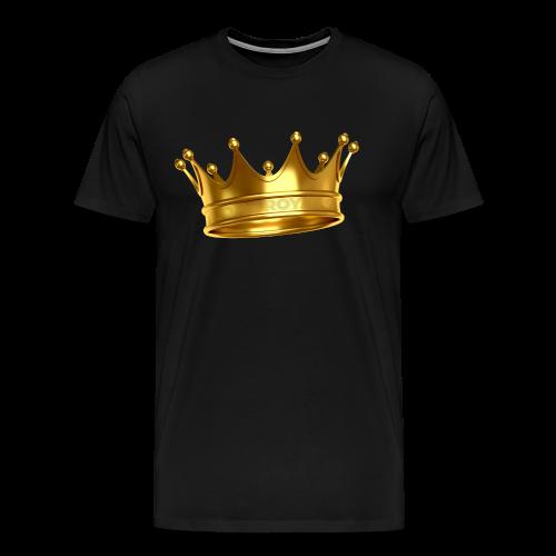 LONE ROYALS CROWN - Men's Premium T-Shirt
