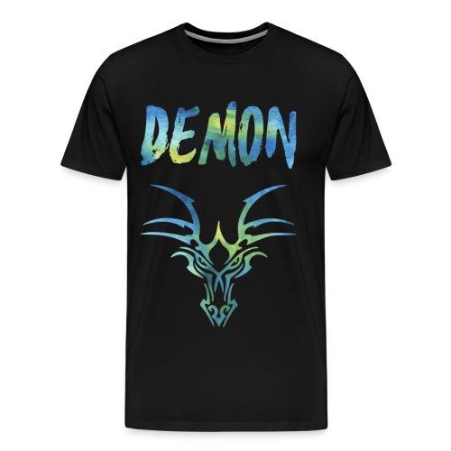 Demon - Drachen - Männer Premium T-Shirt