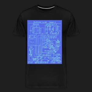 Telephone Circuit - Men's Premium T-Shirt