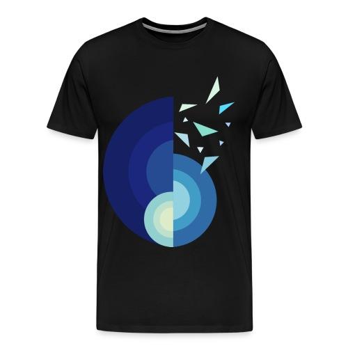 GLACE - MINIMALISTE - T-shirt Premium Homme