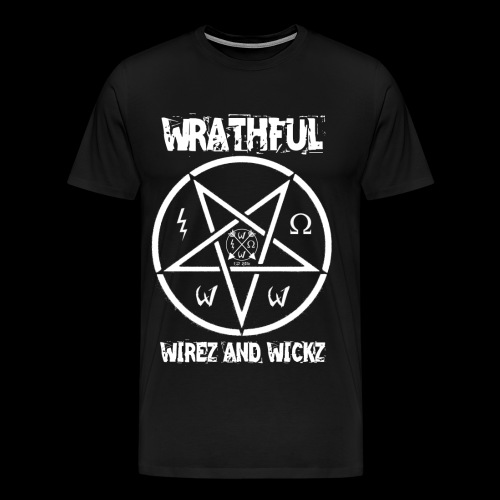 Wrathful Wirez PentaWrath - Men's Premium T-Shirt