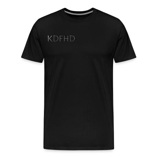 KDFHD - Premium-T-shirt herr