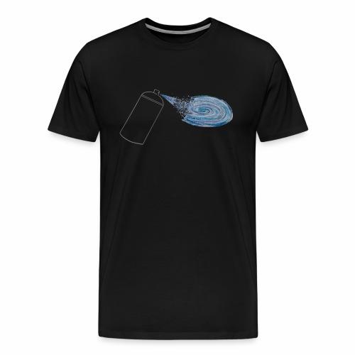 Tag your universe ! For black color - T-shirt Premium Homme