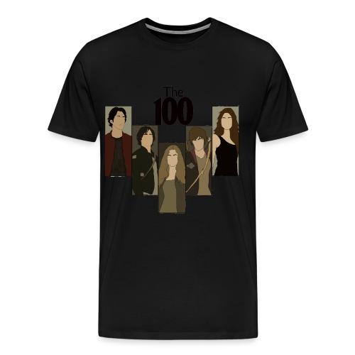 The 100. Personajes - Camiseta premium hombre