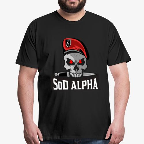 SoD ALPHA TEAM - Männer Premium T-Shirt