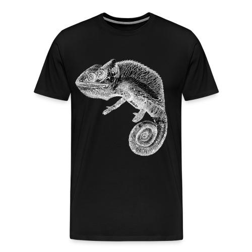 gezeichnetes AnninArt Chamäleon - Männer Premium T-Shirt