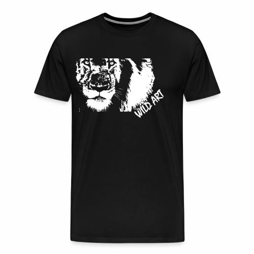 wild art lion - T-shirt Premium Homme