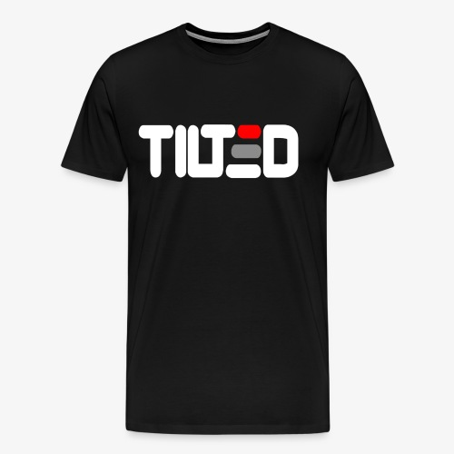 Tilted - Premium-T-shirt herr