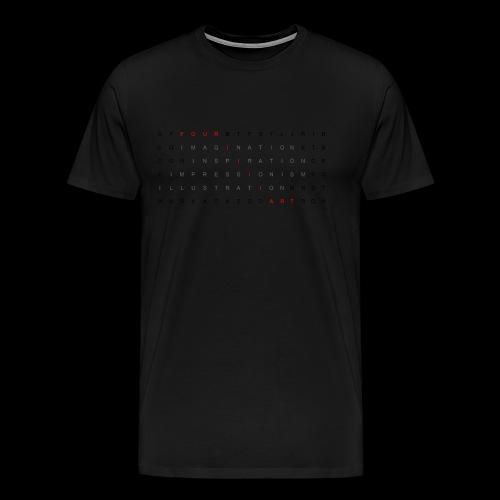 Word search It... - Men's Premium T-Shirt