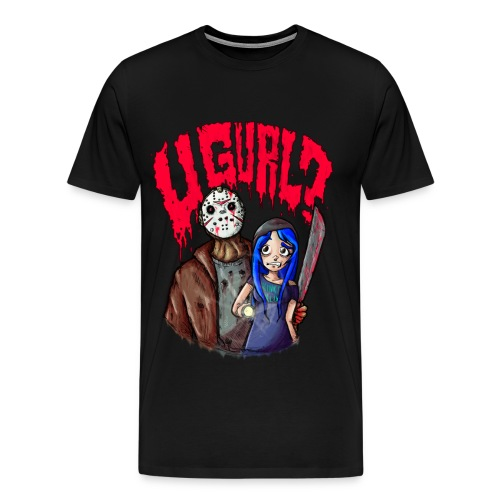 Kinko Klix ''U GURL?!'' - Men's Premium T-Shirt