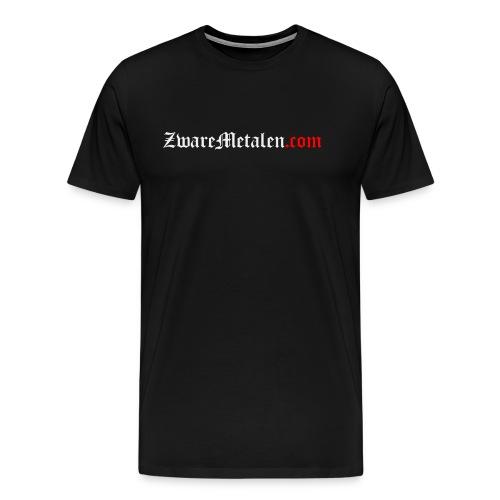 ZwareMetalen.com uitgeschreven - Mannen Premium T-shirt