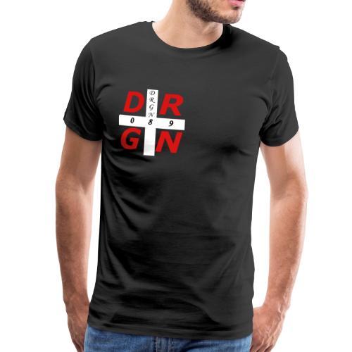 DRGN LOGO1 - Männer Premium T-Shirt