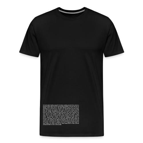 Motivation und Inspiration - T-Shirt - Männer Premium T-Shirt